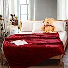 Carolan-紅 羊羔/法萊絨 厚毯(150x200cm)