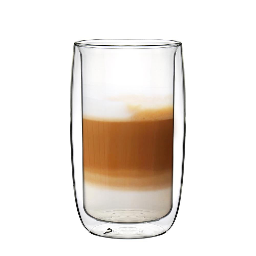 FUSHIMA富島 英倫系列雙層耐熱玻璃杯450ML