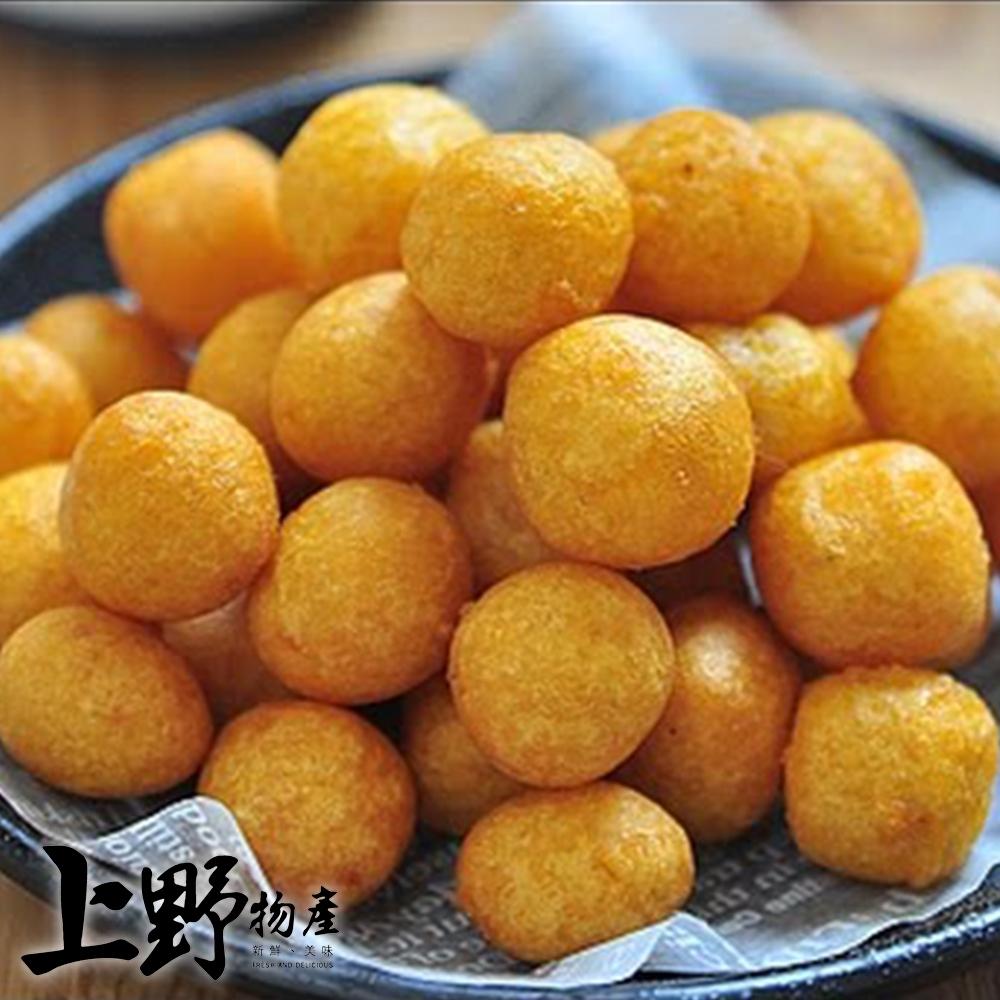 【上野物產】日本人最愛小吃第一名 夜市地瓜球x10包(300g/包)