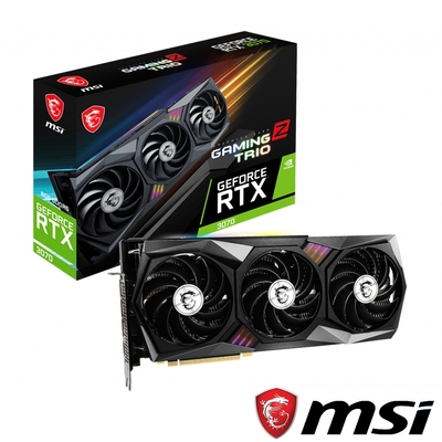MSI 微星 GeForce RTX 3070 GAMING Z TRIO 顯示卡