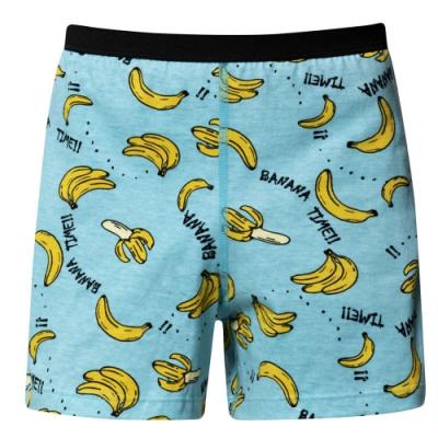 DADADO-筆筆成蕉 110-130男童內褲(藍) 品牌推薦-舒適寬鬆