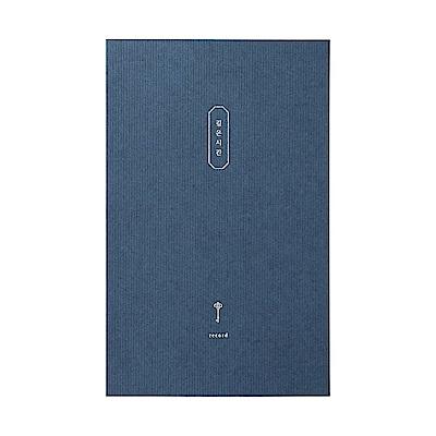 Livework 智慧鑰匙心情筆記本-寧靜藍