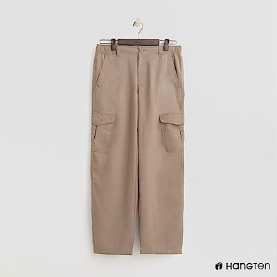 Hang Ten - 男裝 - ThermoContro-鬆緊口袋休閒褲-卡其