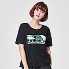 New Balance 迷彩系列短袖T恤_AWT91583BK_女_黑