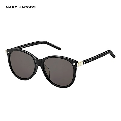 Marc Jacobs- MARC 82/F/S  都會個性時尚太陽眼鏡 黑色