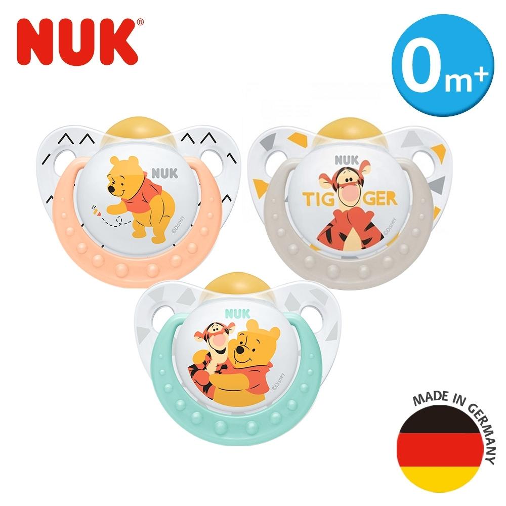 德國NUK-迪士尼安睡型乳膠安撫奶嘴-1入