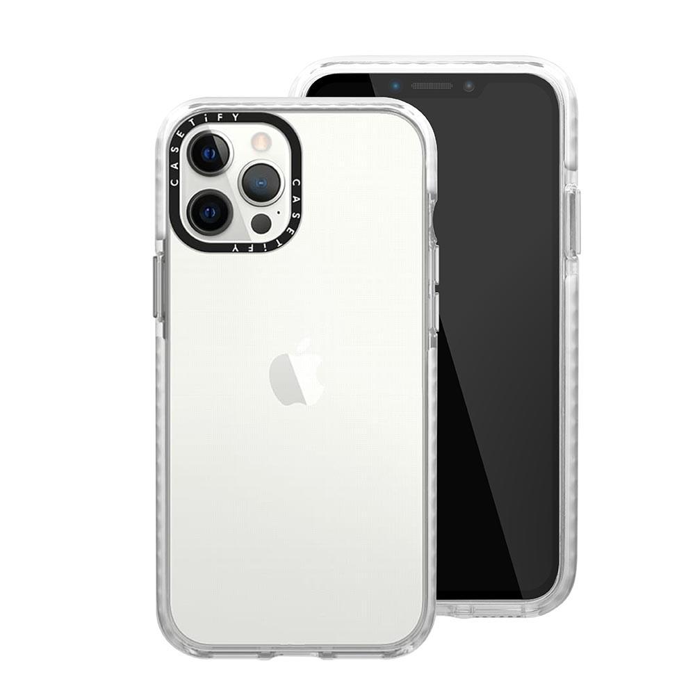 Casetify iPhone 12 Pro Max 耐衝擊保護殼-透明