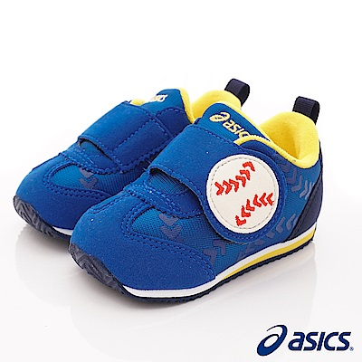 亞瑟士SUKU2機能鞋 棒球造型學步款 44A001-400藍(寶寶段)