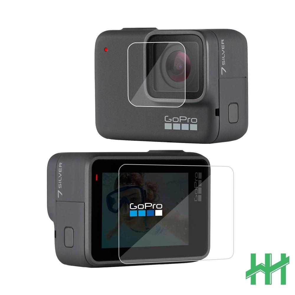 【HH】鋼化玻璃保護貼系列 GoPro HERO 7 BLACK (2英吋)(螢幕+鏡頭)