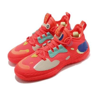 adidas 籃球鞋 Harden Vol 5 運動 男鞋 愛迪達 哈登 大鬍子 NBA球星 紅 彩 H68684