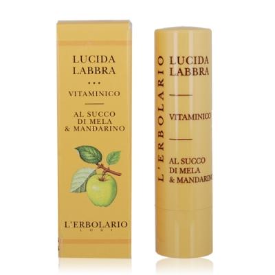 (期效品)L ERBOLARIO 蕾莉歐 維他命水亮唇膏4.5ml-期效202007