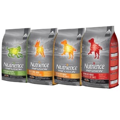 【2入組】Nutrience紐崔斯INFUSION天然糧系列 犬用 2.27kg(5lbs) 送全家禮卷50元*1張(購買第二件贈送寵鮮食零食*1包)