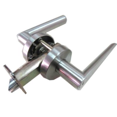 守門員系列 P700 浴室鎖 水平把手鎖 銀色 60mm 下座水平鎖 浴廁鎖 管型板手鎖