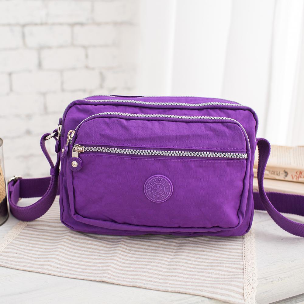 COUNT DUCK 美系悠活輕量側背-CD-001-紫色