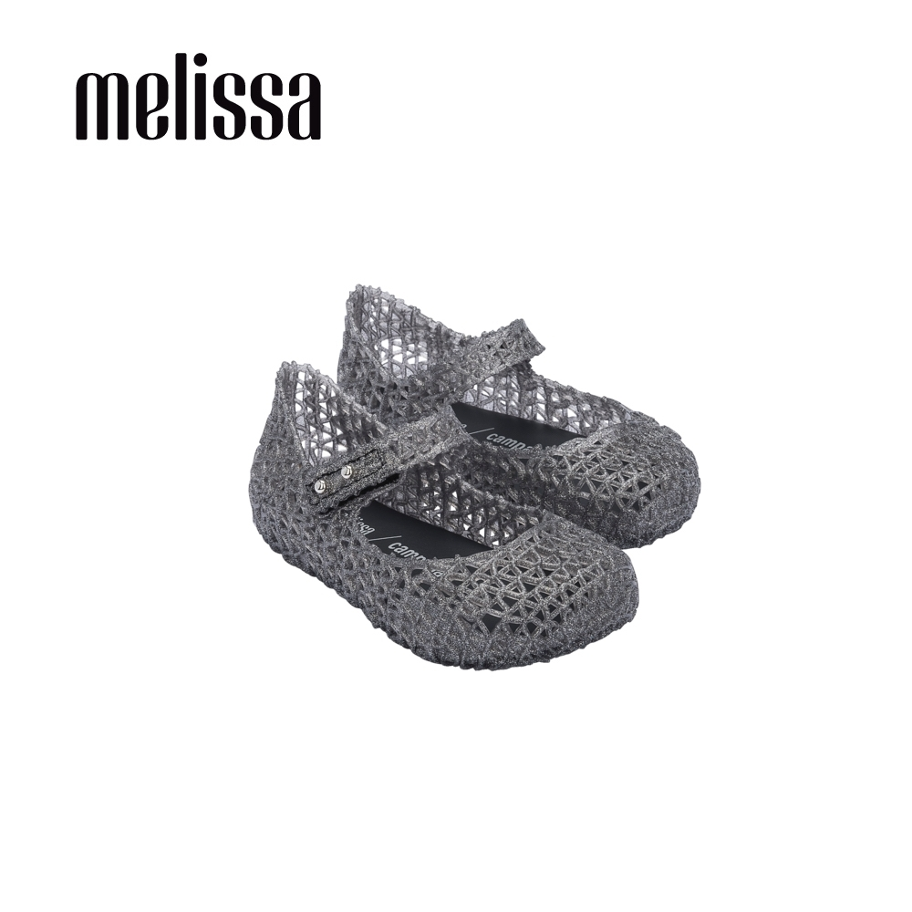 Melissa CAMPANA經典鳥巢娃娃鞋 寶寶款-灰