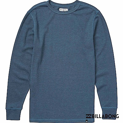 BILLABONG-ESSENTIAL THERMAL長上衣-灰藍