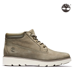Timberland 女款淺粉磨砂革防水6吋靴|A25Z2