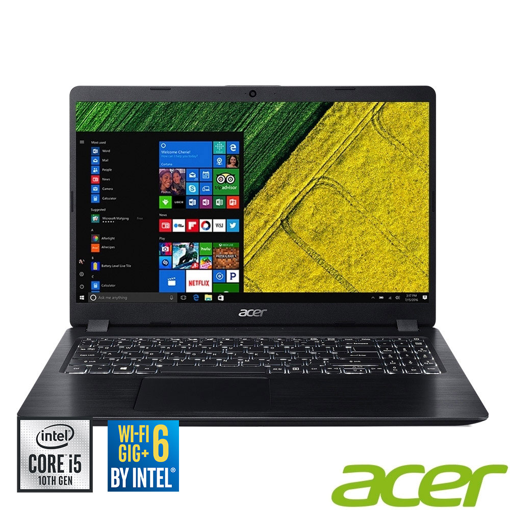 Acer A515-54G-52C4 15吋筆電(i5-10210U/4G/1T/黑 @ Y!購物