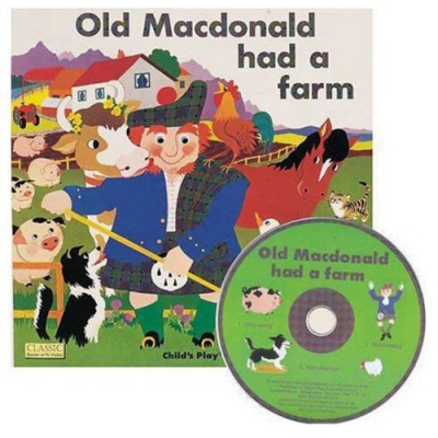 Old Macdonold Had A Farm 王老先生有塊地CD書