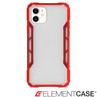 美國 Element Case iPhone 11 抗刮科技軍規殼 - 透紅