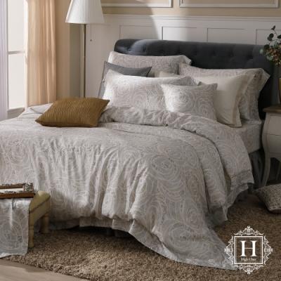 HOYA H Series愜意金迷 雙人四件式頂級100支天絲被套床包組