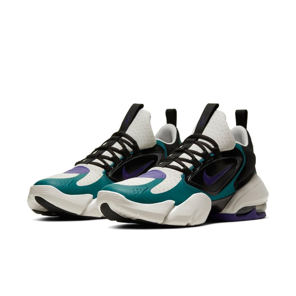 Nike 訓練鞋 Alpha Savage 運動 男鞋 襪套 包覆 氣墊 避震 健身房 球鞋 綠 黑 AT3378053