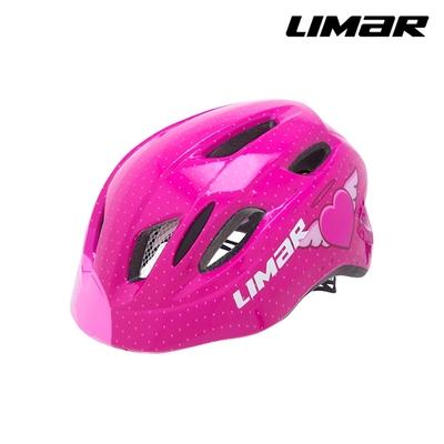 LIMAR 兒童自行車用防護頭盔 KID PRO M / 粉