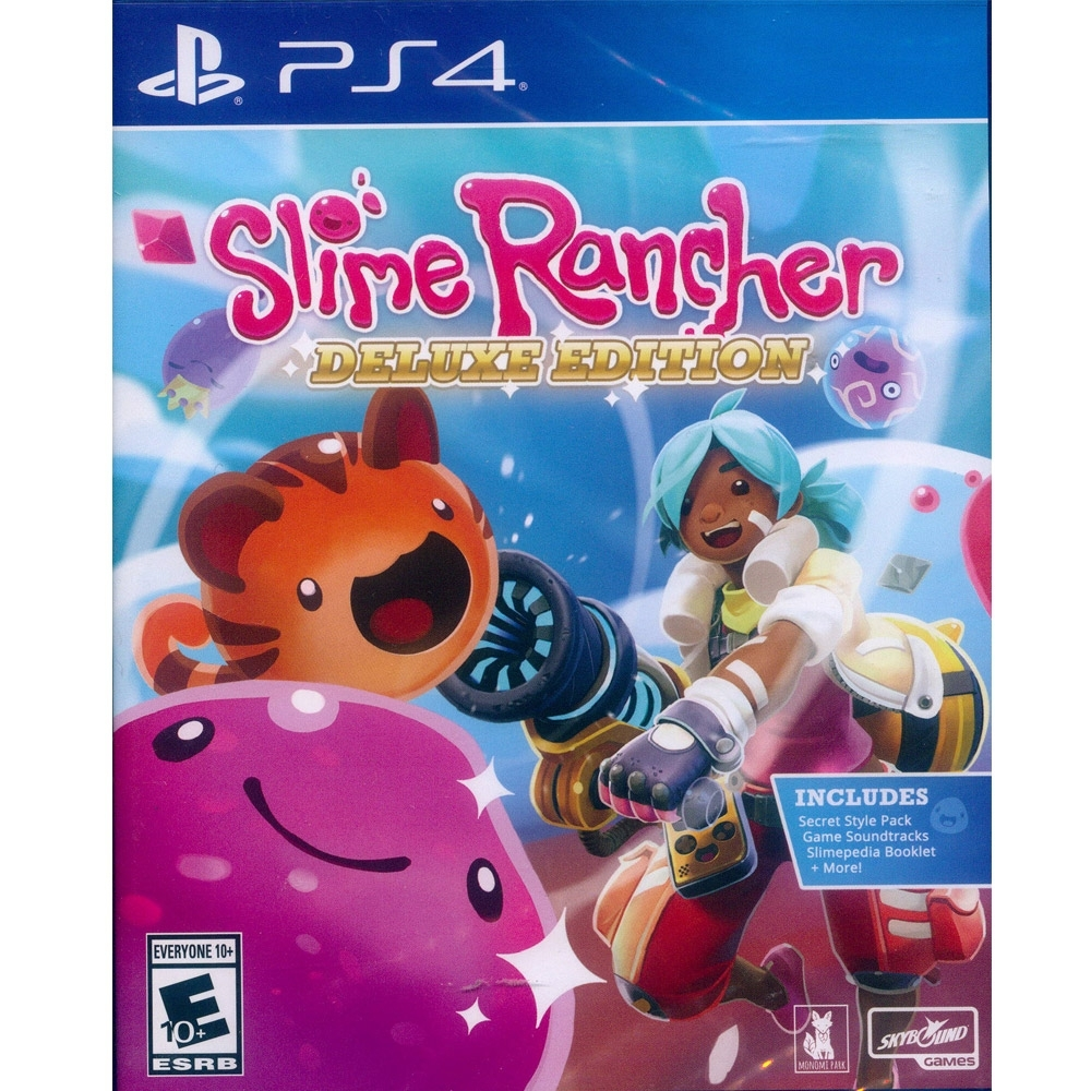 史萊姆牧場 豪華版 Slime Rancher: Deluxe Edition - PS4 中英文美版