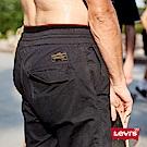 Levis 男款 休閒褲 黑色直筒九分褲 抽繩褲頭 滑板系列