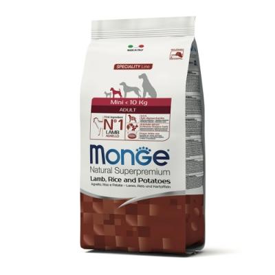 Monge瑪恩吉 天然呵護 小型成犬糧(羊肉+米+馬鈴薯)800g 2包