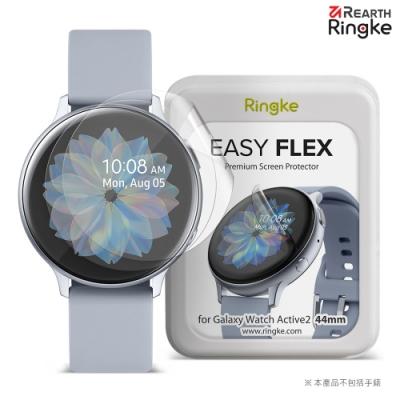 【Ringke】Rearth 三星 Samsung Galaxy Watch Active2 44mm [Easy Flex] 螢幕保護貼(3片裝)