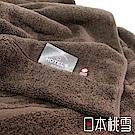 日本桃雪今治飯店毛巾被(茶褐)