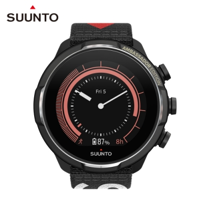 SUUNTO 9 Baro 品牌大使 限量版 / 超長續航力及氣壓計的多項目運動GPS腕錶