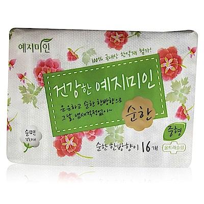 禮知美人 Mild漢方純棉衛生棉 日用 25cmX16片/包