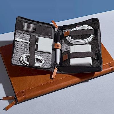 Twelve South Journal CaddySack 真皮數位線材收納盒