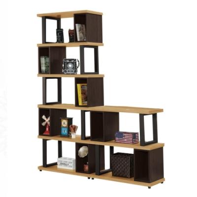 文創集 艾莉森 現代5.3尺多功能隔間櫃/收納櫃組合-160x35x197.2cm免組