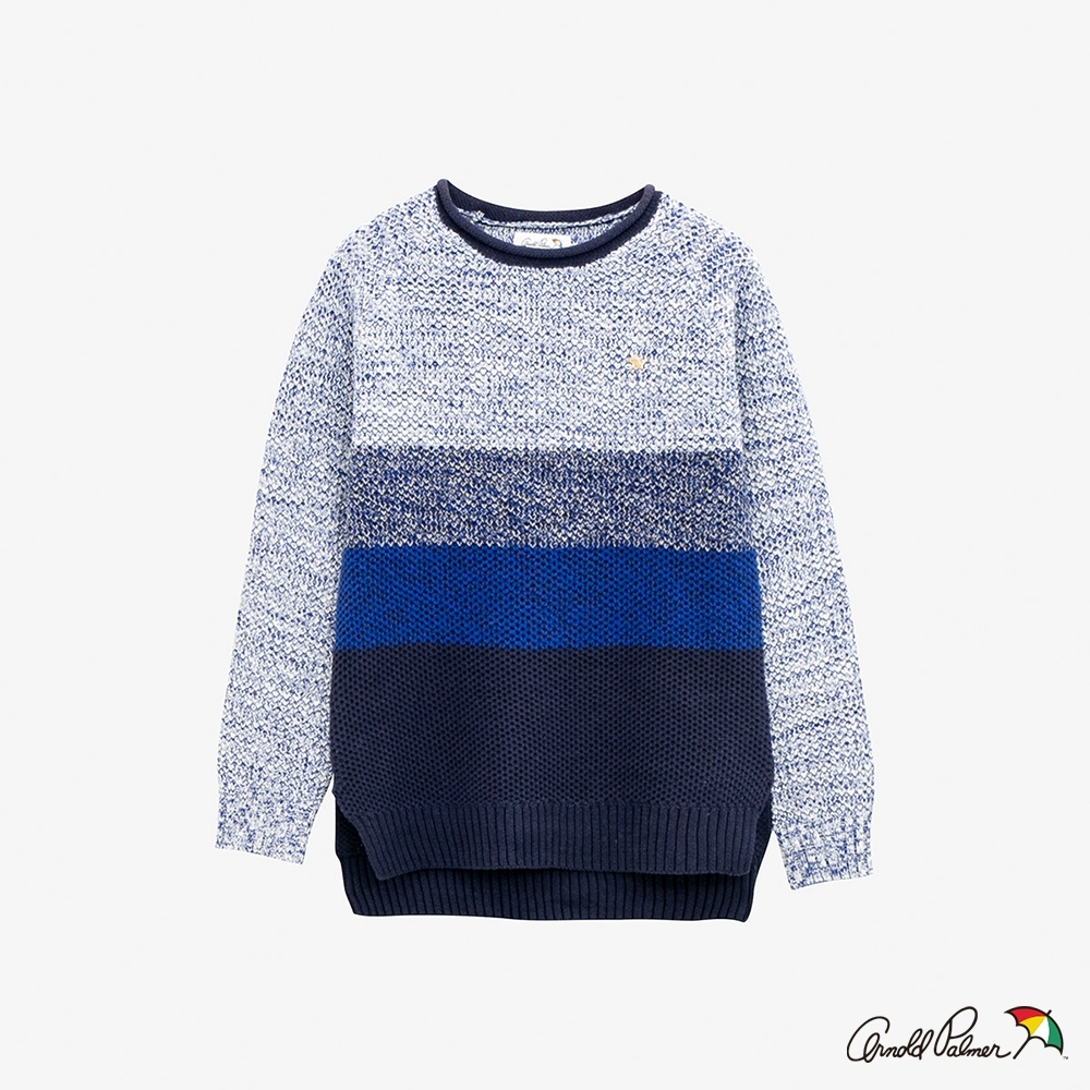 Arnold Palmer -女裝-漸層效果織紋線衫-藍色