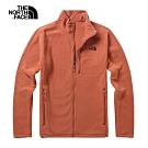 The North Face北面男款紅色舒適保暖針織上衣 3VT9BDN