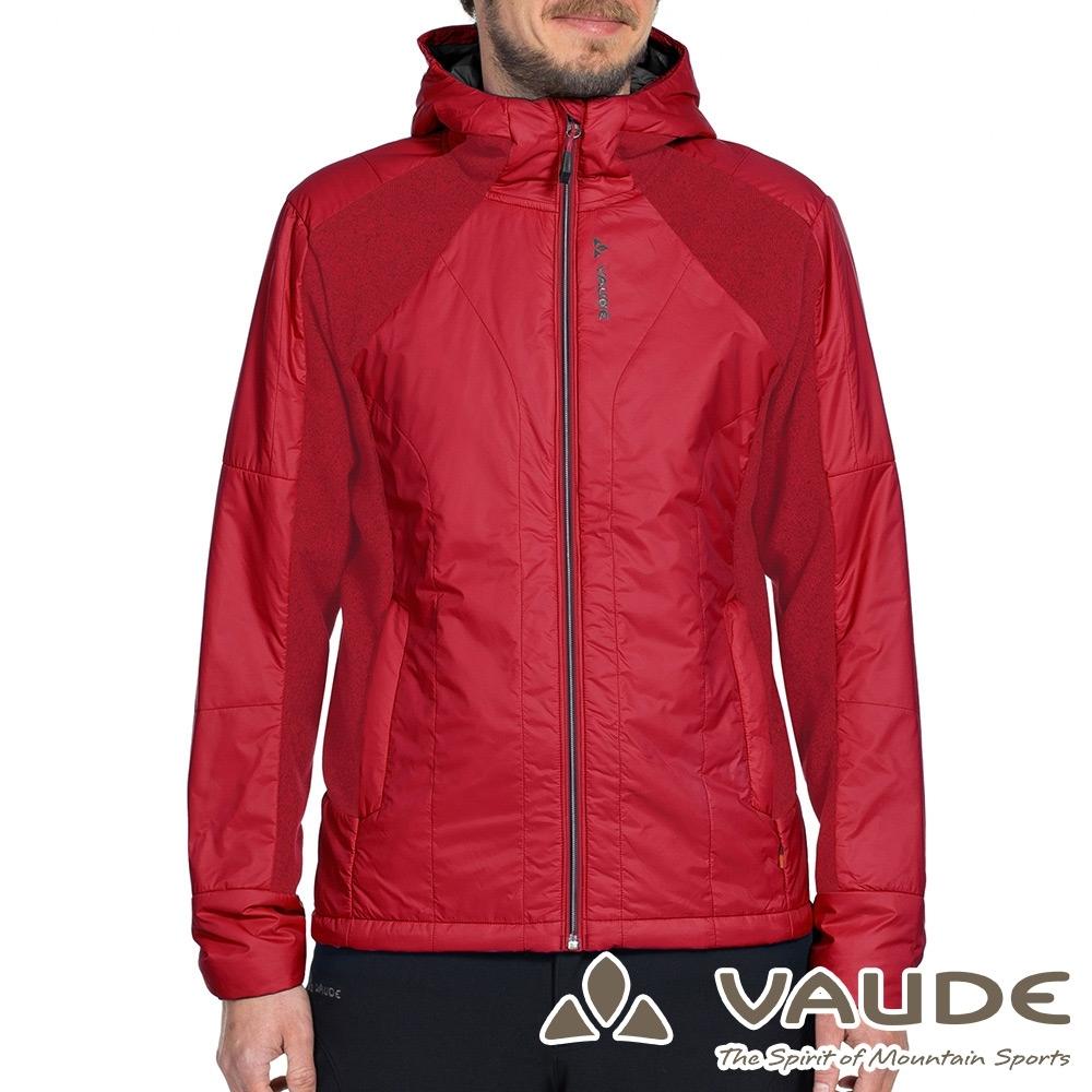 【VAUDE德國】男款Primaloft科技保溫棉休閒運動連帽外套VA-05751紅