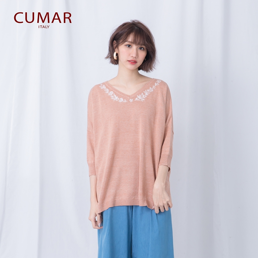 【CUMAR】慵懶毛衣-女長袖針織衫(三色/魅力價格/版型適中)