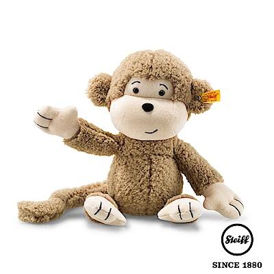 STEIFF德國金耳釦泰迪熊 猴子 Brownie Monkey(動物王國)