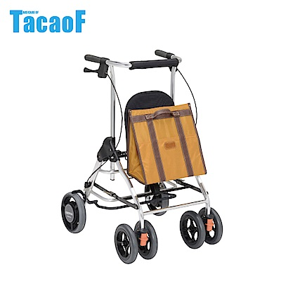 日本TacaoF幸和 休閒托特助行器R型-芥末黃