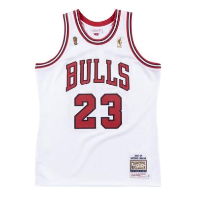 M&N Authentic球員版復古球衣 公牛隊 總冠軍 96-97 #23 Michael Jordan