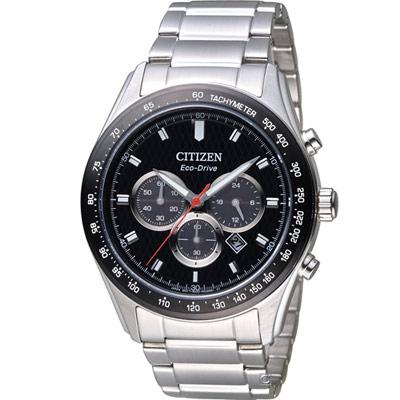 CITIZEN 星辰 光動能計時腕錶(CA4454-89E)43mm