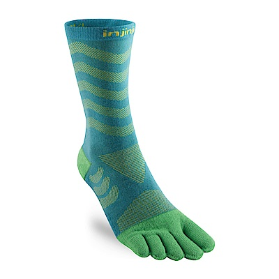 【INJINJI】Ultra Run 終極系列女款五趾中筒襪