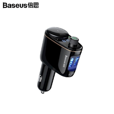 BASEUS 火車頭車載藍芽MP3車充