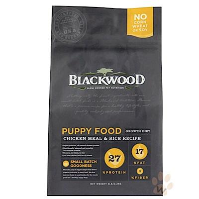 《12月獨家》柏萊富blackwood 特調幼犬成長配方(雞肉+糙米)30磅X2包組