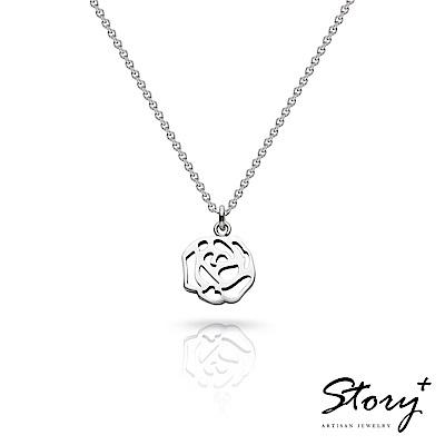 [時時樂限定] STORY故事銀飾-祈福項鍊 卡片銀飾 原價1280