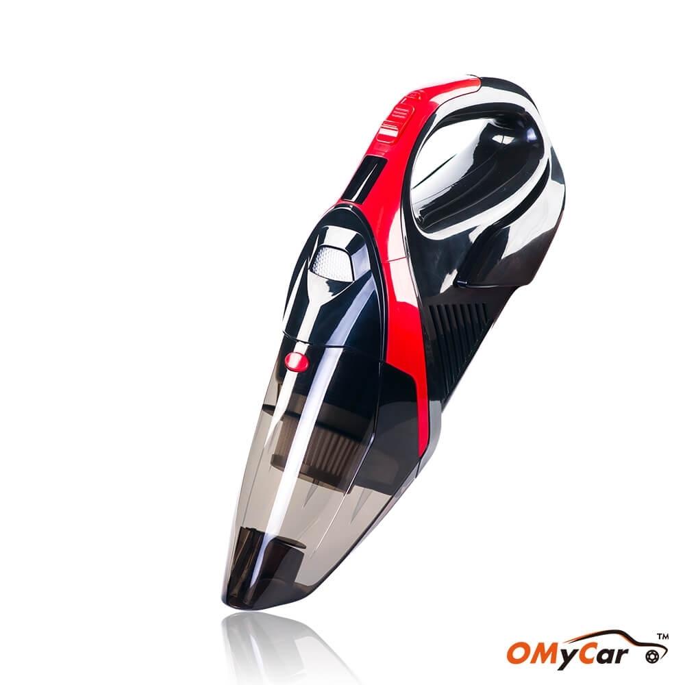 【OMyCar】大吸力乾濕兩用 無線手持吸塵器(加贈-家用充電線)