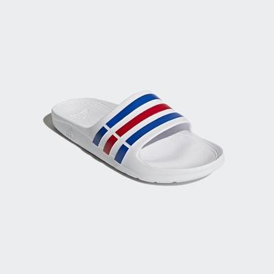 ADIDAS DURAMO SLIDE 男女 拖鞋 白-U43664